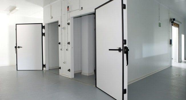RS Mechanical Walk in Cooler Doors